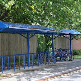 Norwich Cycle Shelter