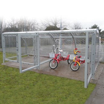 Bath Tricycle Shelter