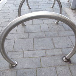 Robust Hoop Cycle Stand