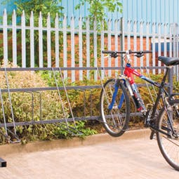 High-Low Bike Racks