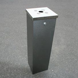 Flat Top Tower Cigarette Bin