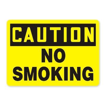 Caution: No Smoking