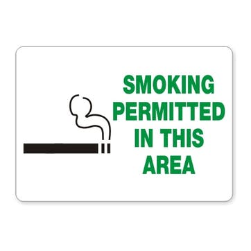 Smoking Permitted In This Area