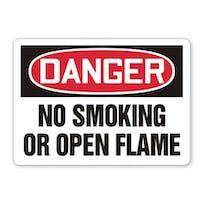 Danger: No Smoking Or Open Flame
