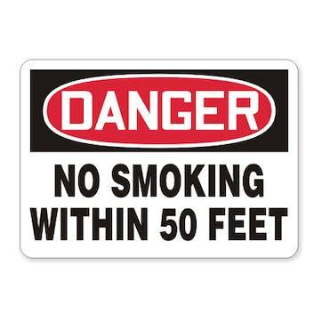 Danger: No Smoking Within 50 Feet
