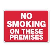 No Smoking On These Premises