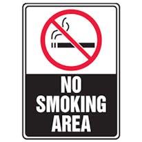 No Smoking Area W/Graphic