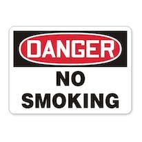 Smoking Control Signs