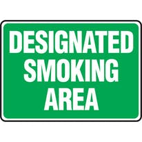 Designated Smoking Area (Green)