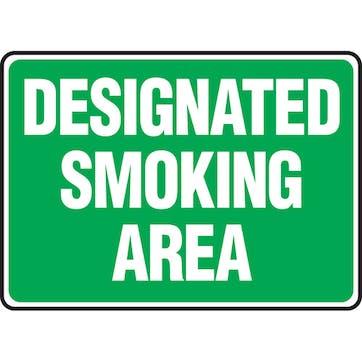Designated Smoking Area (Green)