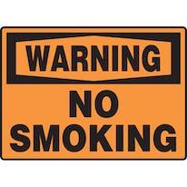 Warning No Smoking