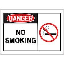 Danger No Smoking W/Graphic