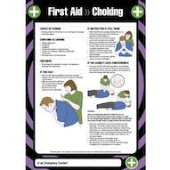 First Aid - Choking Poster