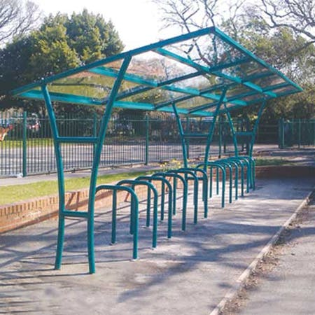 Peveril Cycle Shelter