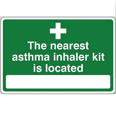 The Nearest Asthma Inhaler Kit Is Located