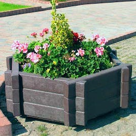Salisbury Planter - Hexagonal