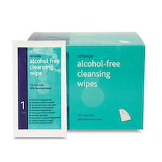 Reliwipe Alcohol Free Cleansing Wipes
