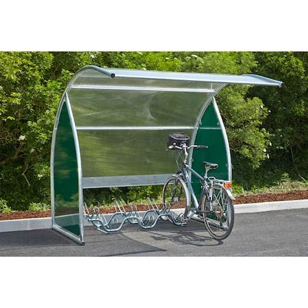 Durlston Curved Cycle Shelter