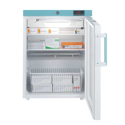 Lec 82L Glass Door Pharmacy Refrigerator