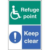 Refuge Point/Keep Clear