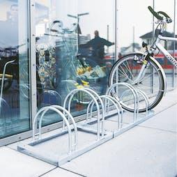 Traffic Line Hoop Cycle Rack
