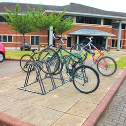 High-Low Claw Bike Rack