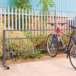 High-Low Bike Racks
