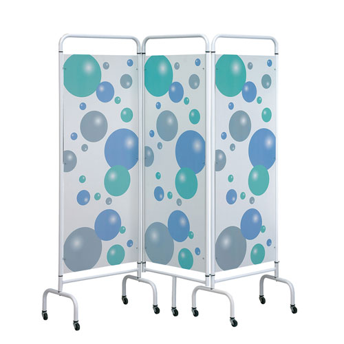 Sunflower 3 Panel Medical Screens