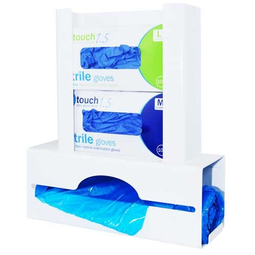 Antimicrobial Double Glove & Apron Dispenser