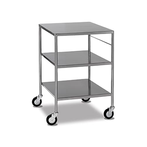 Stainless Steel Trolleys - Fixed Shelves