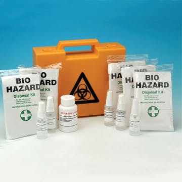 Body Fluid Clean Up Kits