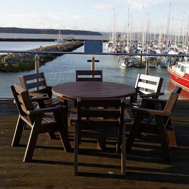 Captain's Table and Captains Chair Set