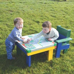 Designed for Little Ones Recycled Table