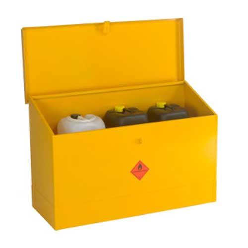 Sloping Flammable Liquid Storage Bins