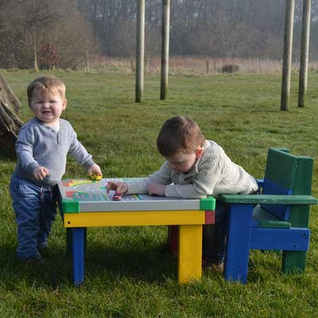 Designed for Little Ones Recycled Plastic Table