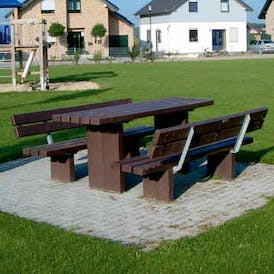 Nantwich Bench and Table