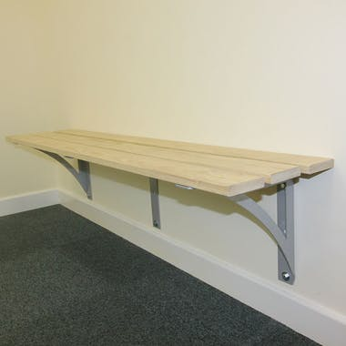 Traditional Wall Mounted Bench