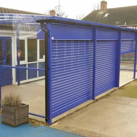 Winterbourne Shelter with Shutters