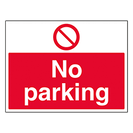 Traffic and Parking Signs
