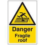 Fragile Roof Signs