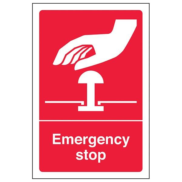 Emergency Stop Signs