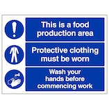 This Is A Food Production Area - Large Landscape