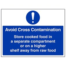 Avoid Cross Contamination - Large Landscape