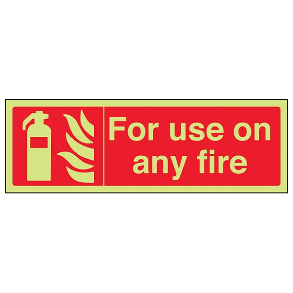 GITD For Use On Any Fire - Landscape