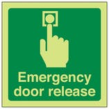 Emergency Door Release - Square