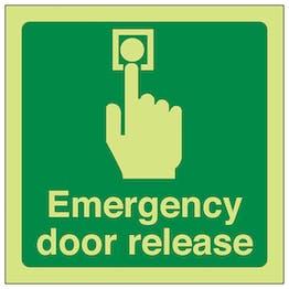 Emergency Door Release - Square