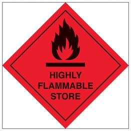 Highly Flammable Store