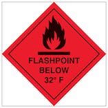 Flashpoint Below 32F