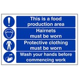 Food Hygiene/Catering Signs