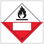 Spontaneously Combustible 4 UN Substance Numbering
